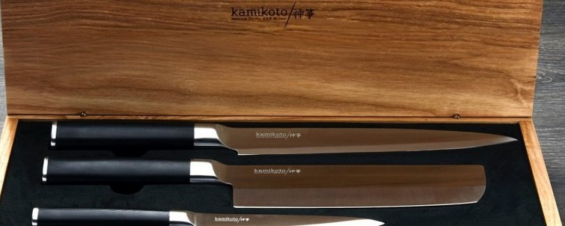 Cut a Big Chunk off Your Prep Time with the Kamikoto Kanpeki Knife Set